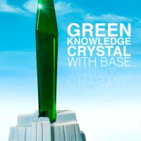 Christopher Reeve Superman Premium Format Figure Green Crystal