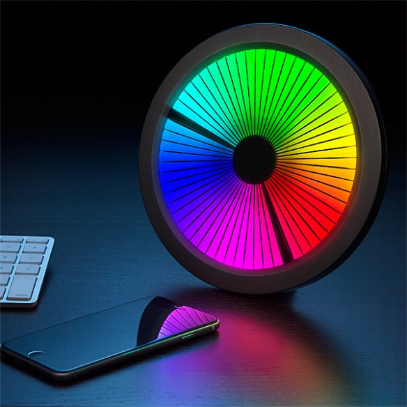 Chromatic LED Color Spectrum Clock