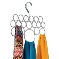 Chrome InterDesign Axis Scarf Holder