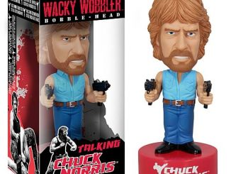 Chuck Norris Talking Bobble Head