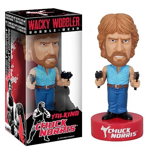 Chuck Norris Talking Bobble Head
