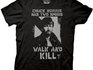 Chuck Norris Two Speeds T-Shirt