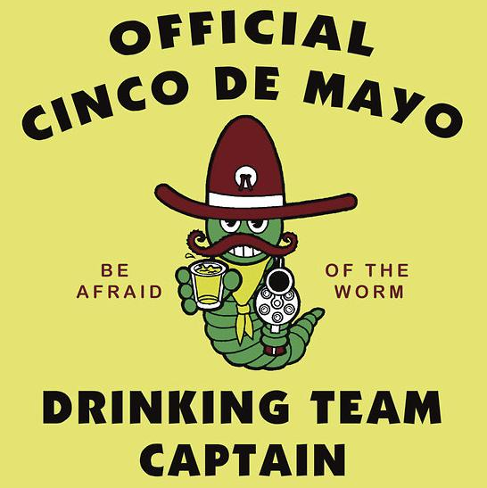 Cinco de Mayo Drinking T-Shirt