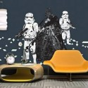 Cinematographics Star Wars Mural