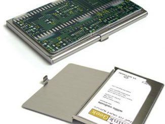 Circuitboard Business Card Case