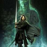Lord of the Rings Art Clash of Kings Aragorn Art