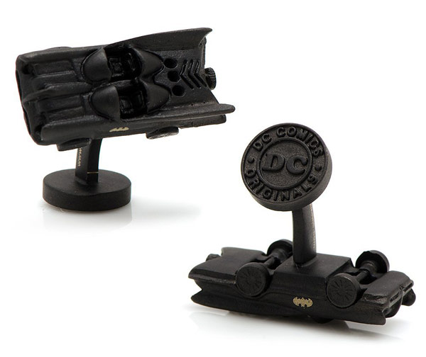Classic Batman Batmobile 3D Cufflinks