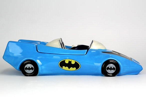 Classic Batmobile Cookie Jar