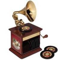 Classic Christmas Song Gramophone