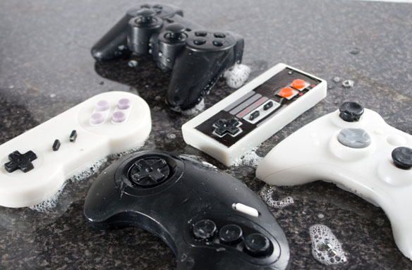 Classic Game Controller Soaps