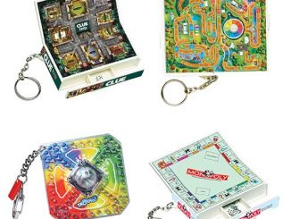Classic Games Series 8 Key Chain Set