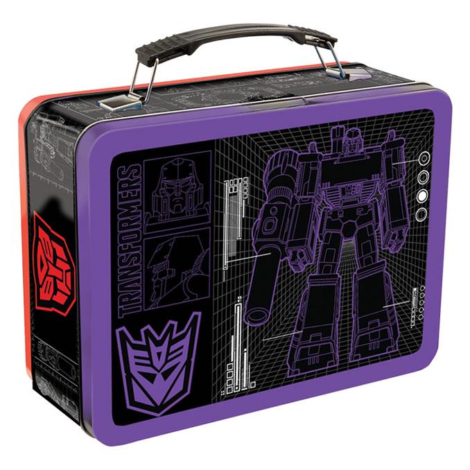 Classic Megatron Transformers Large Tin Tote