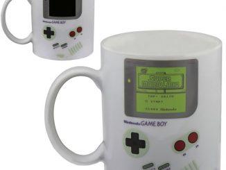Classic Nintendo Game Boy Heat Change Mug