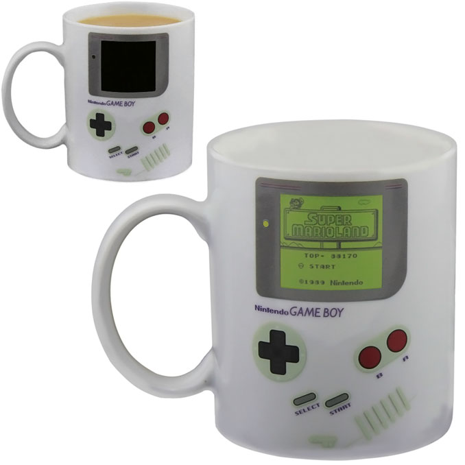 Classic Nintendo Game Boy Heat Change Mug