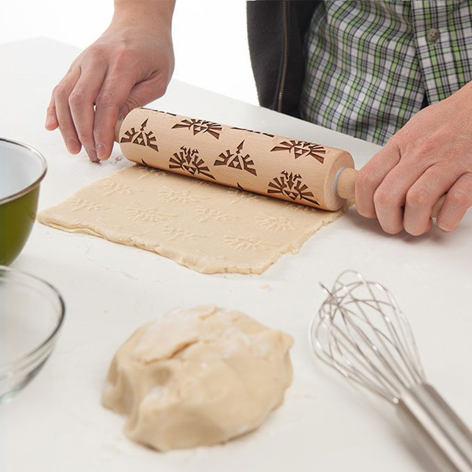 Classic Nintendo Legend of Zelda Molded Rolling Pin