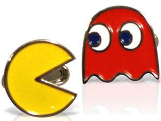 Classic Pac Man Cufflinks