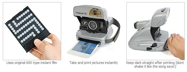 Classic Reconditioned Polaroid Cameras