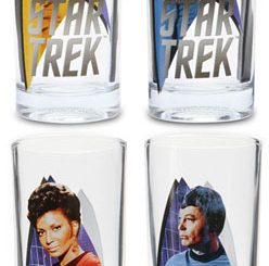 Classic Star Trek 10oz Glass Set