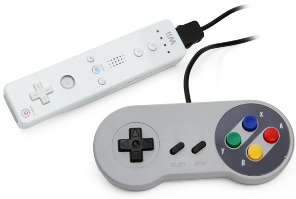 Classic Super Famicom Controller For Wii