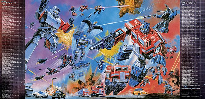 Classic Transformers Soundtrack BumbleBee Vinyl LP