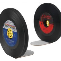 Classic Vinyl Recycled Record Bookends