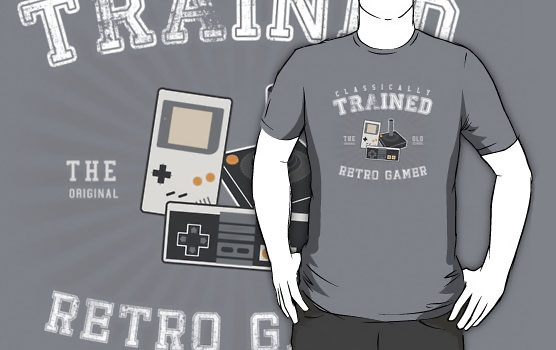 Classically Trained Retro Gamer T-Shirt