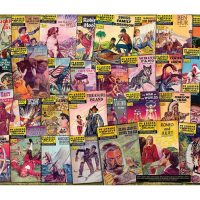 Classics Illustrated Comics Covers Puzzle 1000 Pieces Retro Style Collage