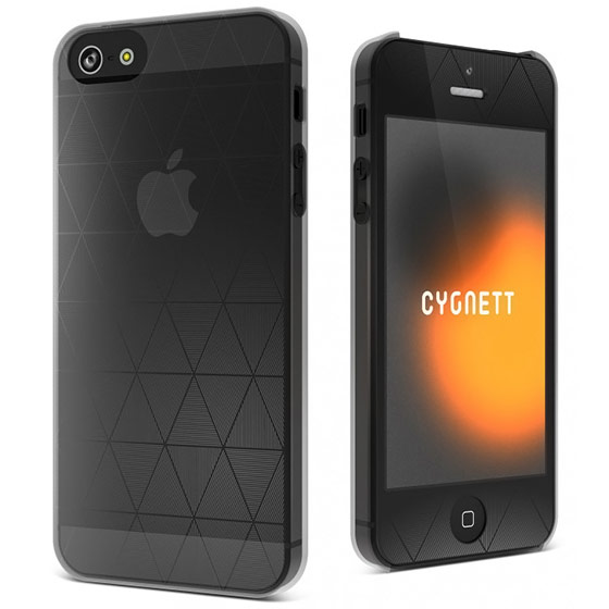Cygnett Clear Polygon iPhone 5 Case
