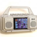 ClearMax Ultimate Water Resistant Stereo Speaker Case For iPhone and iPod