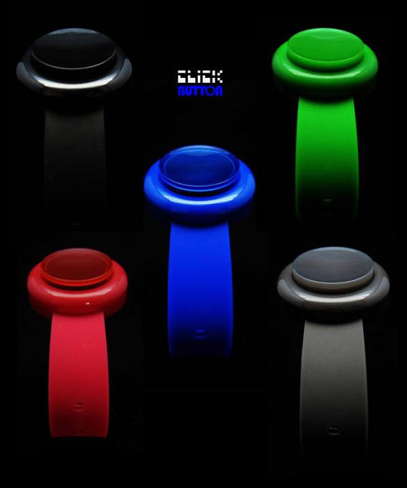 Click Arcade Button Watch Colors