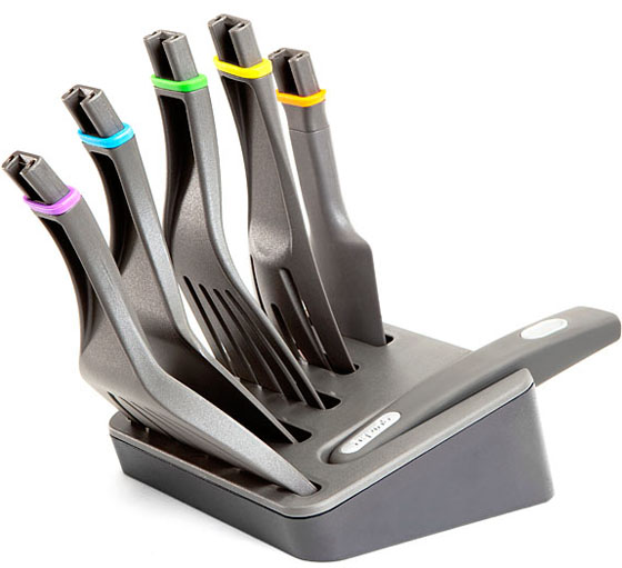 ClickNCook Cooking Utensils with Storage Block