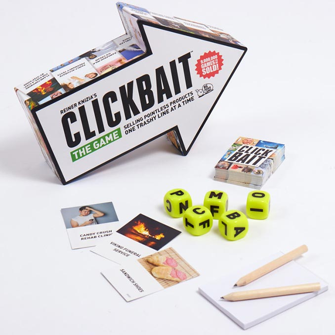 Clickbait Board Game