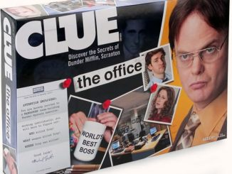 Clue Board Game The Office Edition