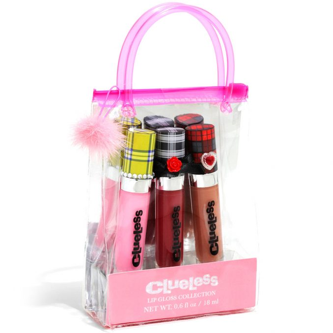 Clueless Totally Buggin' Lip Gloss Set