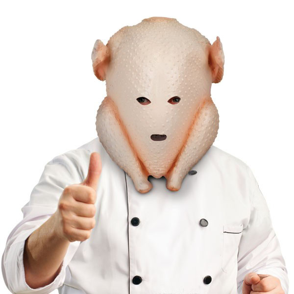 Clumsy Cook Turkey Mask
