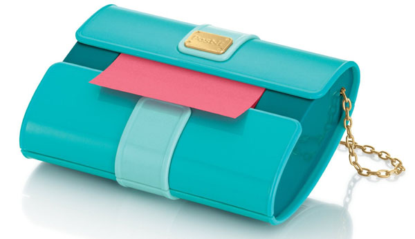 Clutch Purse Style Post-it Pop-up Note Dispenser