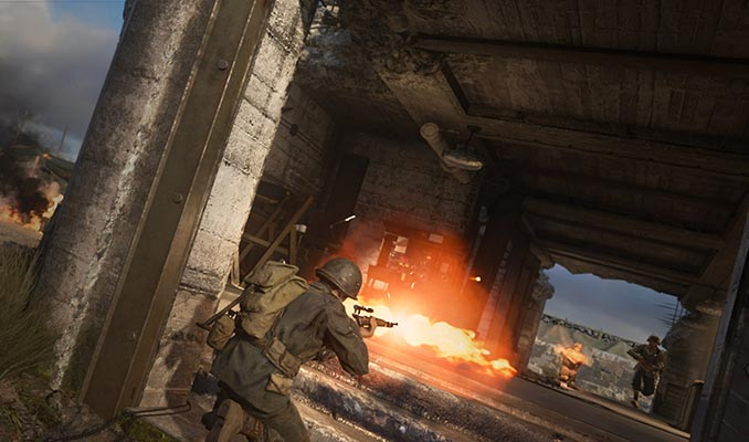 Call of Duty: WWII Blitzkrieg Party Modes HQ Map