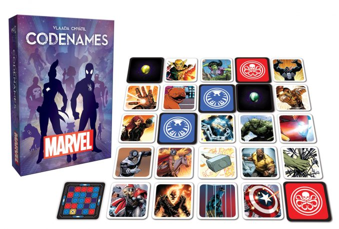 Codenames Marvel Comics Edition Game