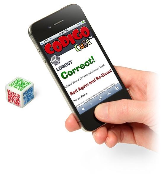 Codigo Cube - QR Code Trivia Game