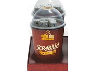 Coffee Time Games Scrabble Scramble Board Game