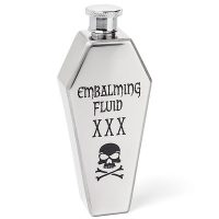 Coffin Embalming Fluid Flask
