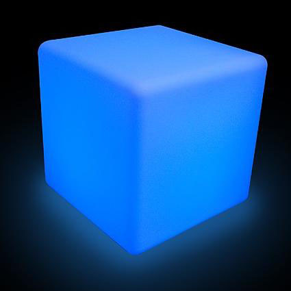 Colour changing led cube