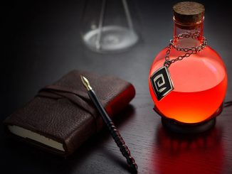 Color-changing LED Potion Lamp