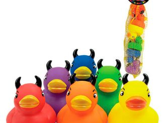 Colorful Devil Duckies