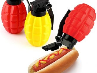 Combat Condiments Grenade Shaped Dispensers