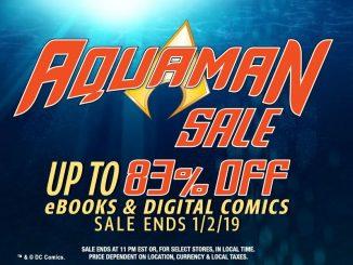 ComiXology Aquaman Sale