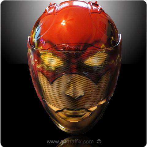 Comic Book Character Motorcycle Helmets
