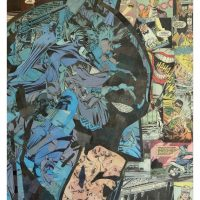 Comic Collage Art - Batman