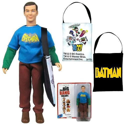 Comic Con Exclusive Big Bang Theory Sheldon Action Figure