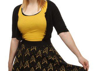 Star Trek Command Logo Skirt